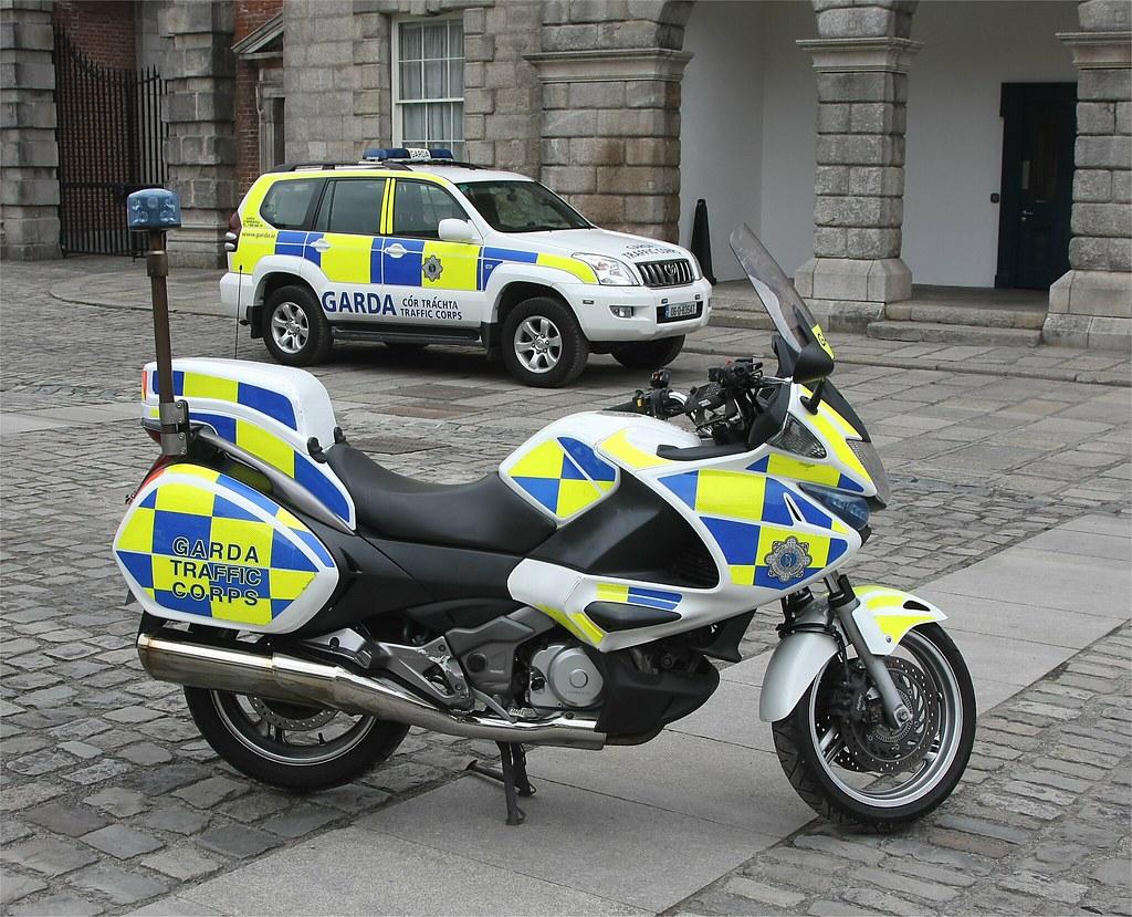 Garda Irish Police Traffic Corps Toyota 4wd Amp Honda Mo