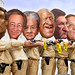 Gang of Six - Cartoon