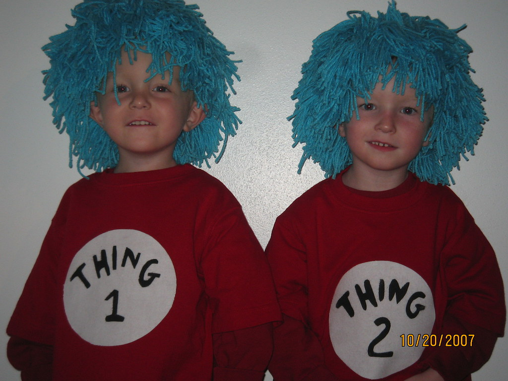 e twins halloween costumes [2007] (2) | here is our twin boy… | flickr