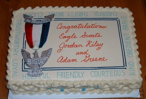 Boy Scout Eagle Cake Ideas