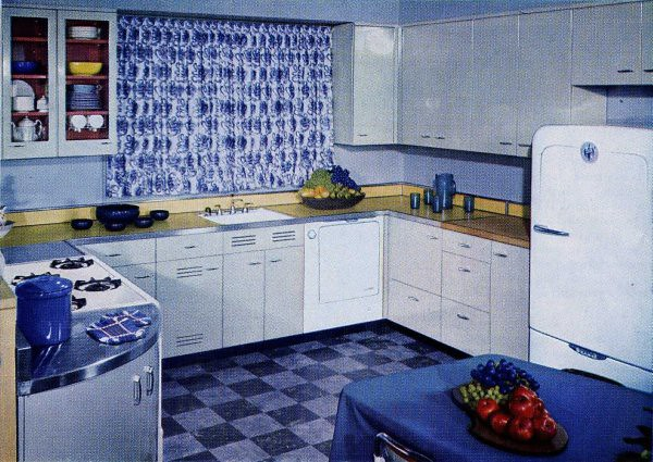 sparkling kitchens   kitchen designs of the 1950s   flickr  rh   flickr com