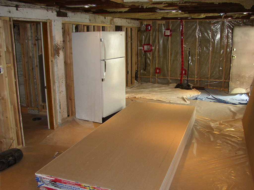 Kitchen Living Room Pre Drywall Kyle Martin Flickr