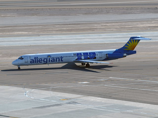 Allegiant Airlines MD-83 - McCarran Int'l Airport, NV  USA | by gTarded