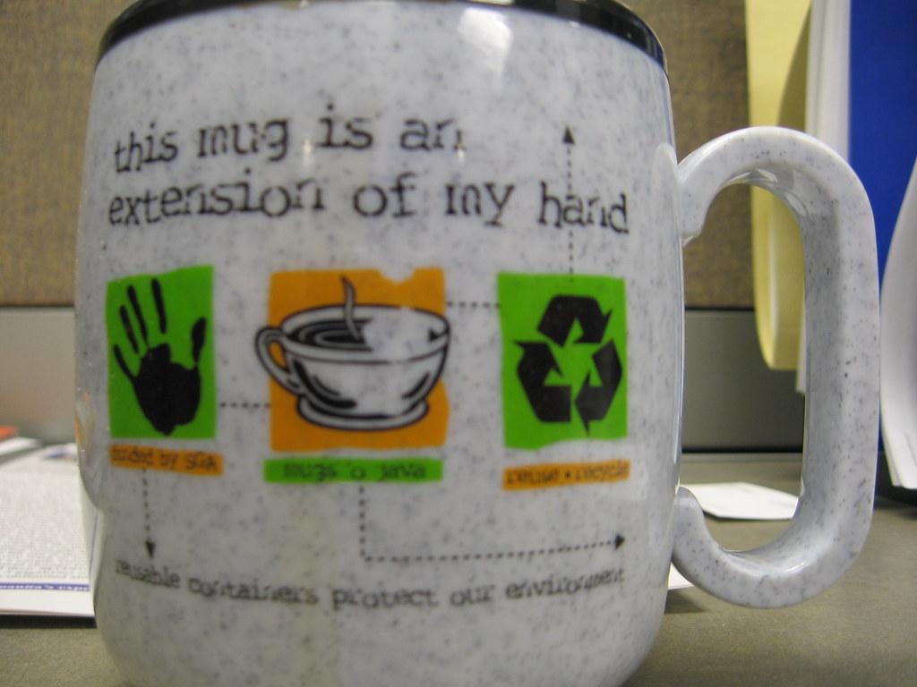 Hand Made Mug Whole Foods Pittsburgh