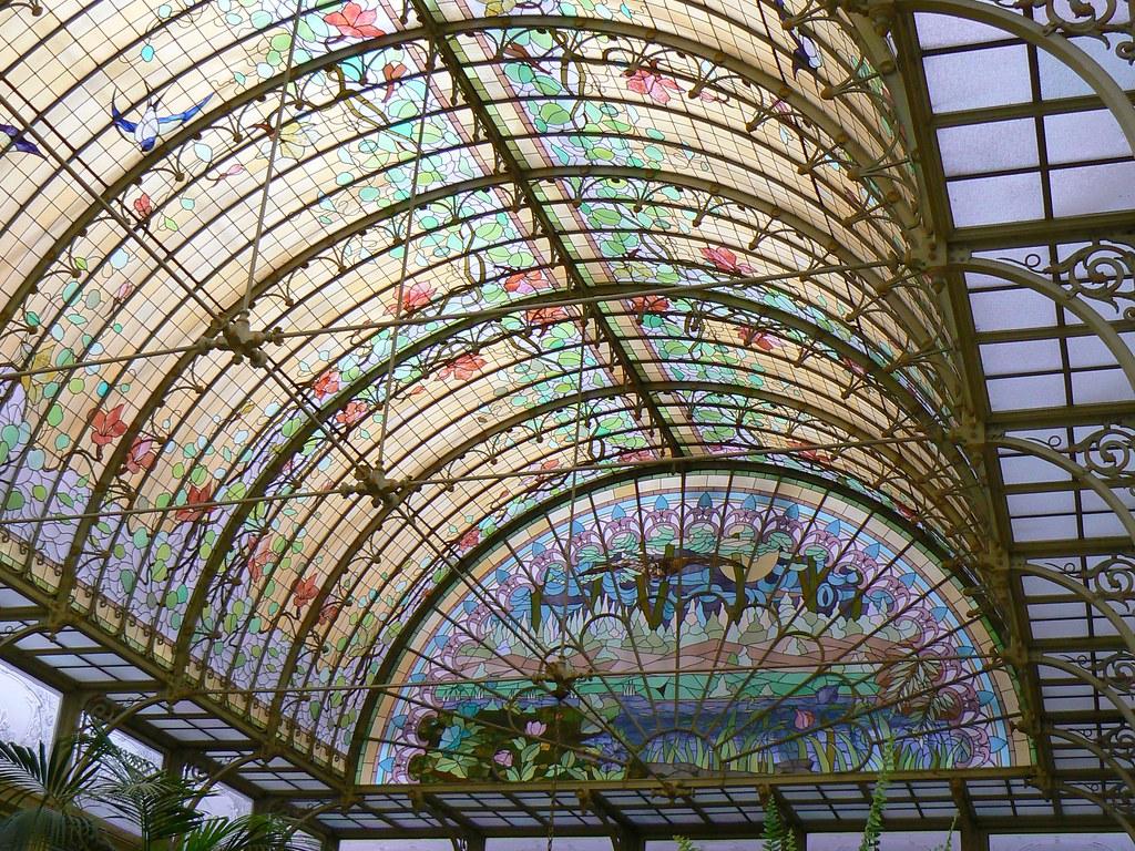 Art Nouveau Dome Onze Lieve Vrouw Waver Belgium