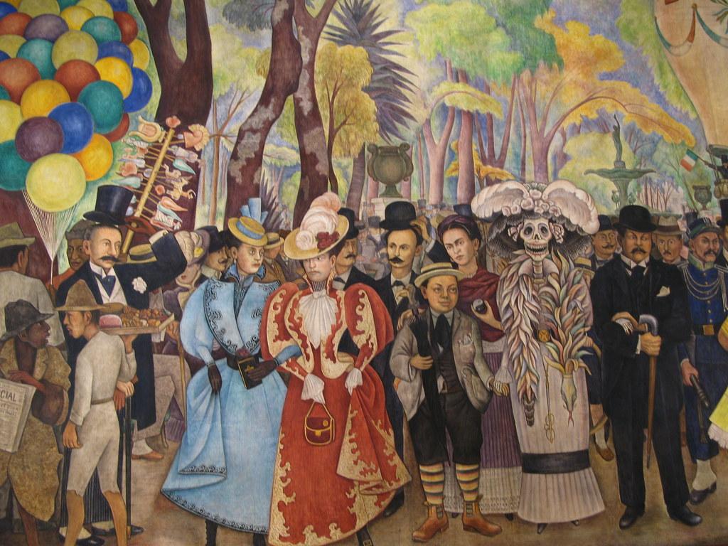 suenos de una tarde dominical en Sueño de una tarde dominical en la alameda central de diego rivera  fue precisamente esta obra el motivo para crear el museo en 1988 el mural fue la .