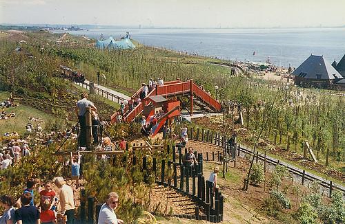 Garden Festival Liverpool 1984 Miniture Railway At