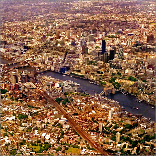Aerial map, London - see all size..:) | by Katarina 2353
