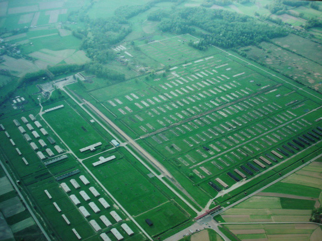Aerial Birkenau Nelsonmedia Flickr