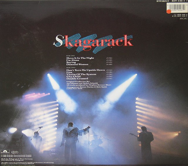 "SKAGARACK S/T SELF-TITLED 12"" vinyl LP"