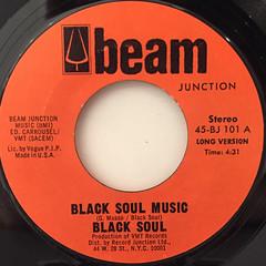 BLACK SOUL:BLACK SOUL MUSIC(LABEL SIDE-A)
