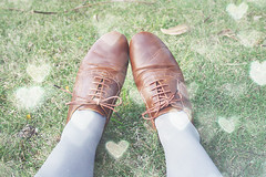 tan brogues | by pearled