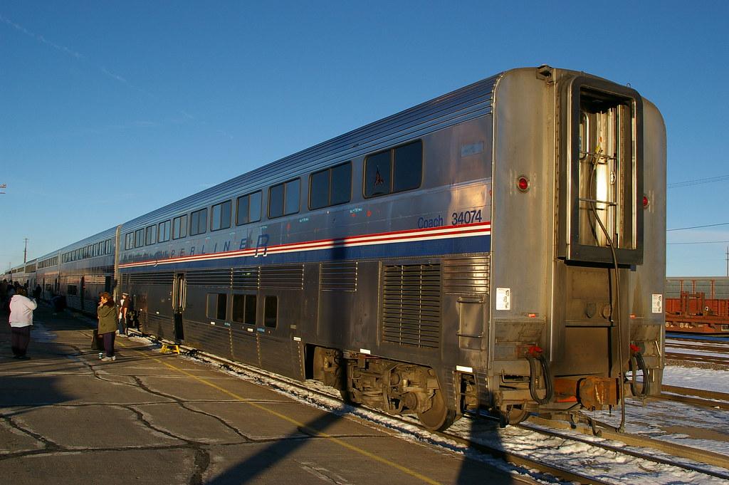 Usa Amtrak Southwest Chief La Junta Colorado Superlin