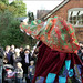 English Mummers Play: The 'Dragon'