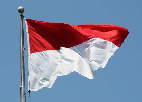Indonesia Flag - Photo credit Mr.TinDC