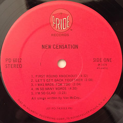 NEW CENSATION:NEW CENSATION(LABEL SIDE-A)
