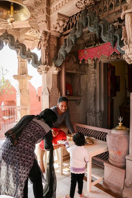 Chamunda Devi Temple in Mehrangarh Fort, Jodhpur, India ジョードプル メヘラーンガル・フォートのチャームンディー・デーヴィー寺院