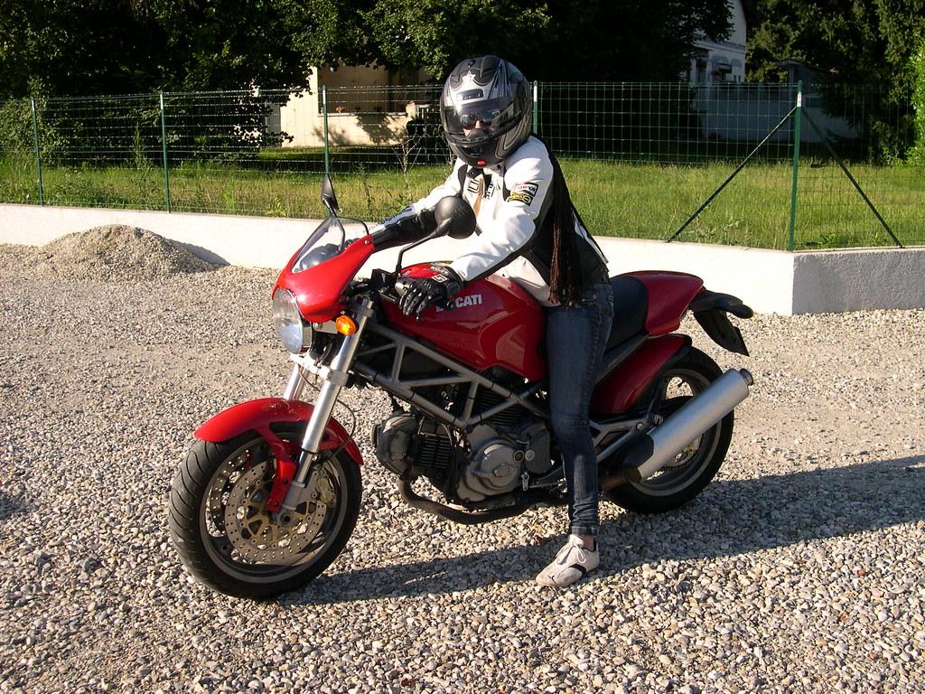 Ducati Monster   White
