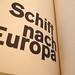 Schiff nach Europa –– Markus Kutter/Karl Gerstner 1957