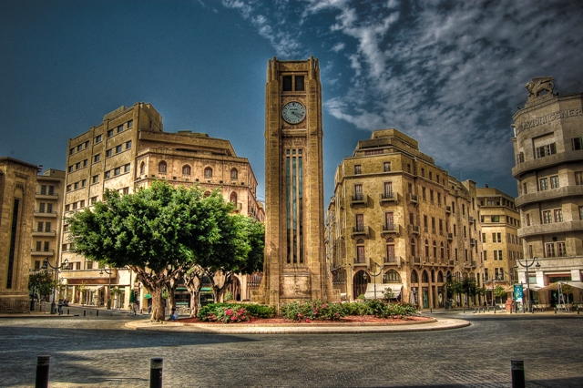 downtown beirut a city of ghost