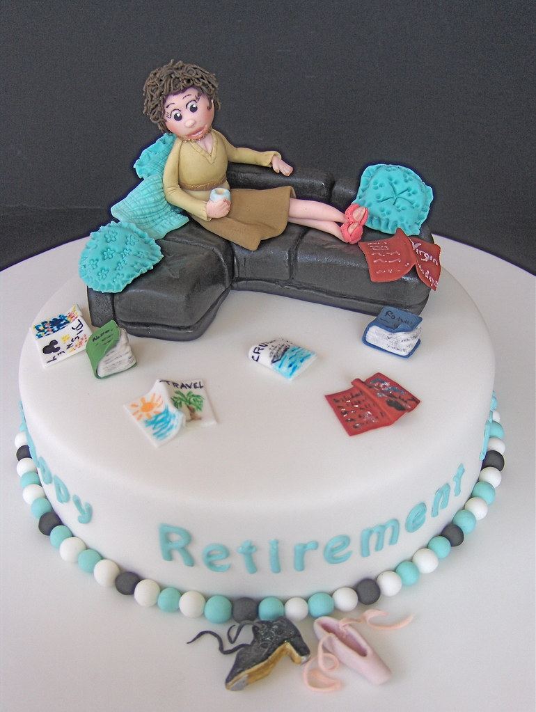 Retirement Cake For Those Of You Who Follow The Plot