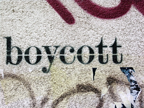 boycott | by twicepix