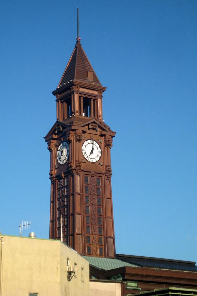 Nj Hoboken Erie Lackawanna Terminal Clock Tower Flickr
