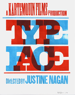 Typeface film poster | by Nick Sherman