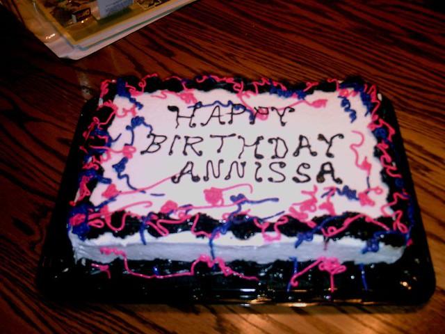 Singing Birthday Cake For Sale