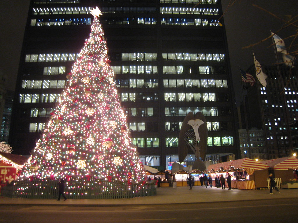 daley center christmas tree chicago by mark 2400 - Christmas Tree In Chicago