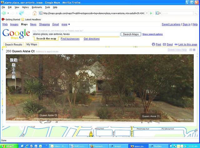 My House On Google Maps Street View Not Really Sure How