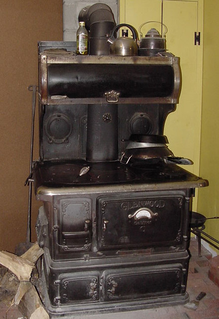 Glenwood Cabinet Woodstove This Is Our Kitchen Stove A