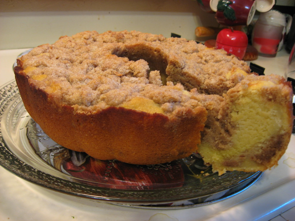 Cinnamon Bundt Cake Using Cake Mix