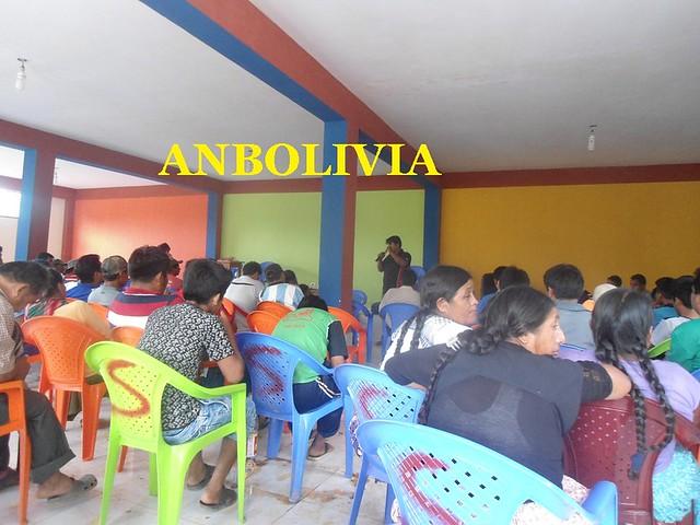 PRODUCTORES DE LA HOJA DE COCA DE LA ASUNTA, YUNGAS, PARTICIPAN DEL TALLER DE LIDERAZGO
