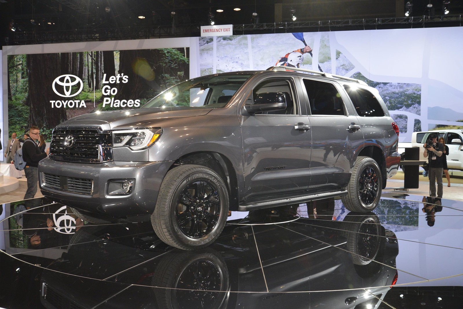 2018 Toyota Sequoia TRD Sport live photos: 2017 Chicago Auto Show