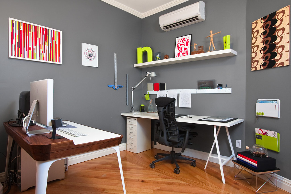 Terrific New Workspace 125Sq Ft The New Home Studio Is Near Complet Flickr Largest Home Design Picture Inspirations Pitcheantrous