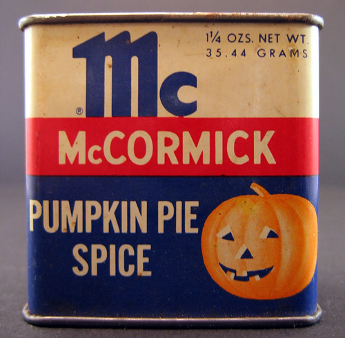 McCormick Pumpkin Pie Spice Tin | by Neato Coolville