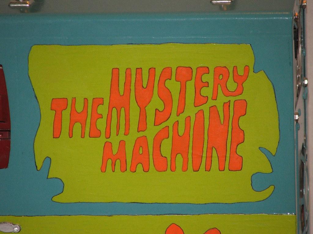mystery machine font