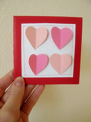 Simple Handmade Valentine Card | by jamieanne
