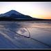 Sunset from the Lake Yamanaka