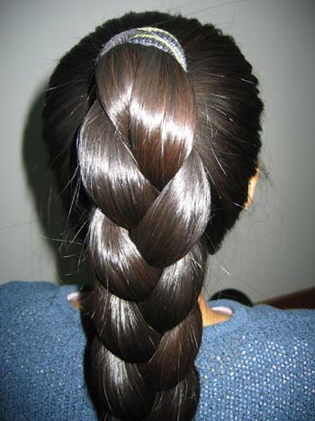 Shiny braided ponytail   Chotlo   Flickr