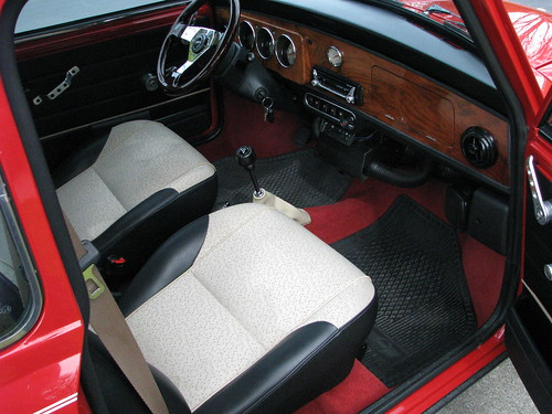 1997 Austin Mini Cooper Interior | The beautiful interior ...