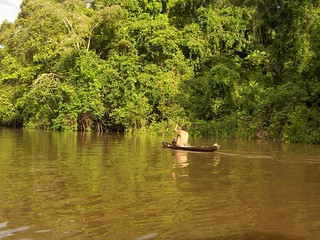 Dugout Canoe on the Amazon | by adrimcm