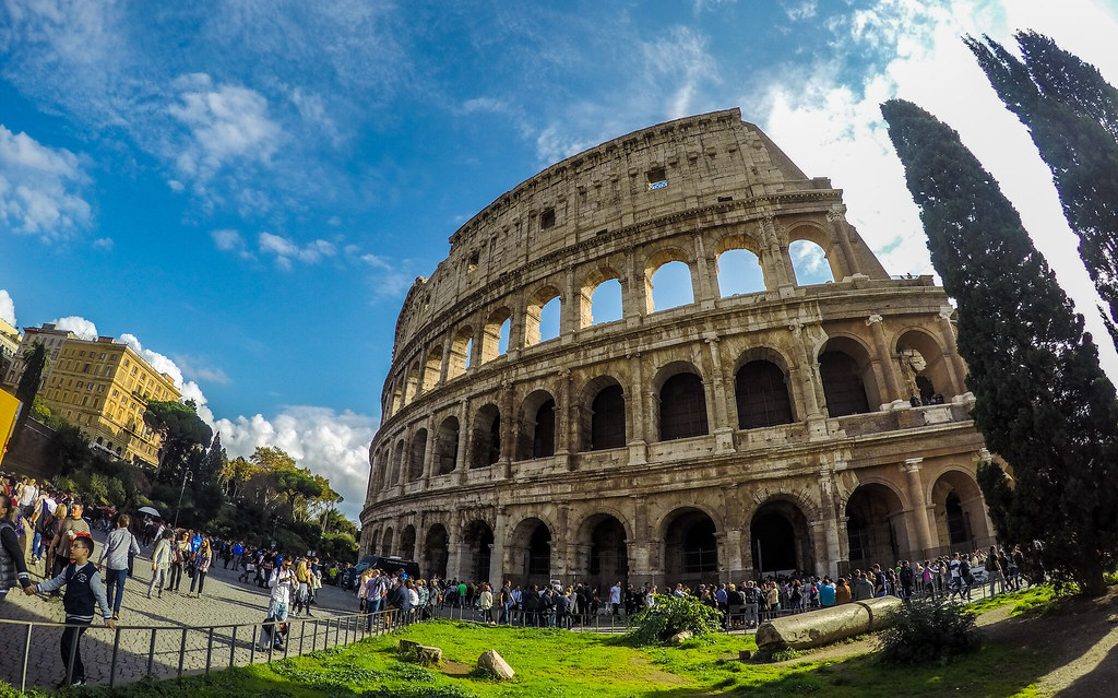 #colosseum #colosseo #roma #rome #italy #goprohero4silver