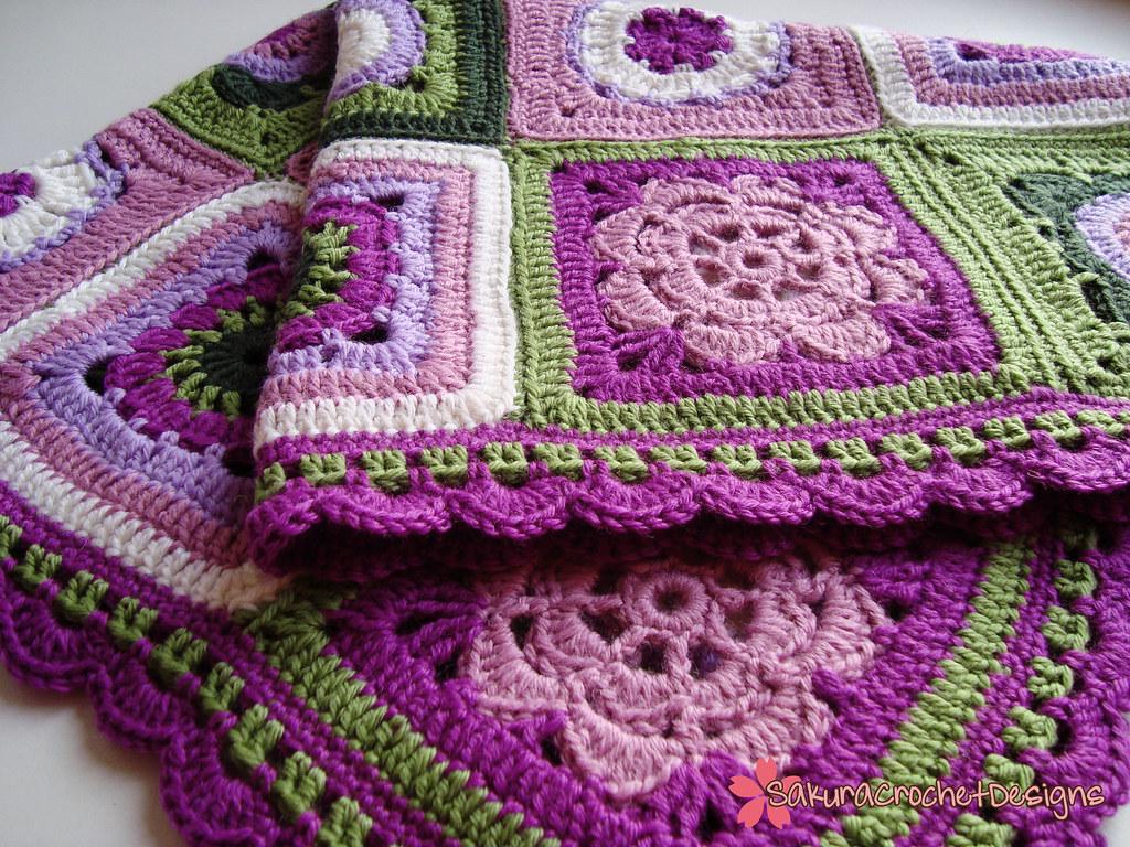 Secret Garden Blankie Is Your Baby Already A Fashionista Flickr