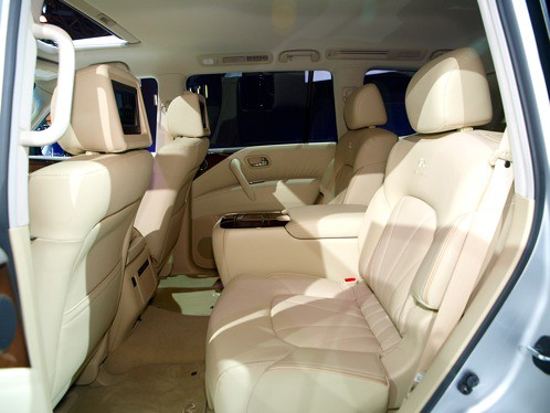 Infiniti Qx56 2018 >> 2011 Infiniti QX56 - interior (3) | Automotive Rhythms | Flickr