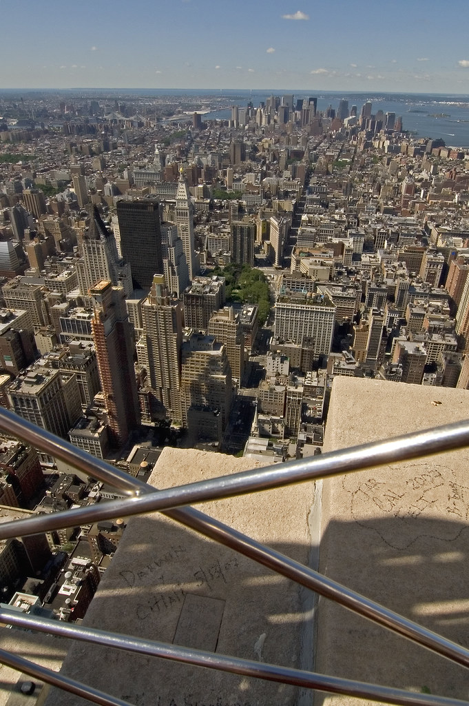 Empire state building 102nd floor observatory 2 lasse for 102nd floor