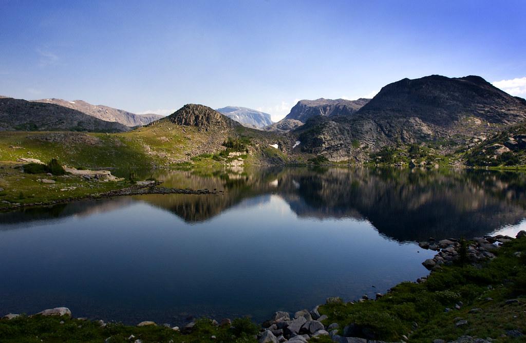 Big Horn >> Mistymoon Lake | Mistymoon Lake in the Cloud Peak Wilderness… | Flickr