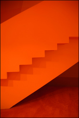 Orange Staircase | by chas.eastwood