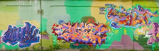 [mb] Graffiti Wall Panorama (Chicago) - 1 | by Merrick Brown